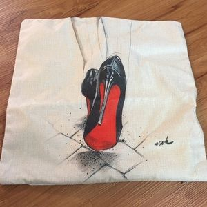 Other - Red bottoms pillow cover